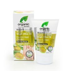 DR.ORGANIC Virgin Olive Oil Foot & Heel Cream - 125 ml.