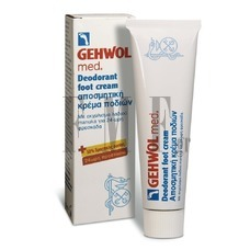 GEHWOL Med Deodorant Foot Cream - 75 ml.