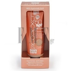 LUXURIOUS Sun Care Silk Cover with Hyaluronic Acid 50SPF Natural Beige - 75 ml.