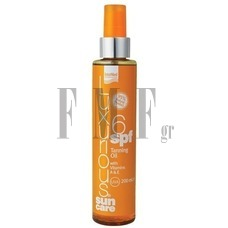 LUXURIOUS Sun Care Tanning Oil 6 SPF - 200 ml.