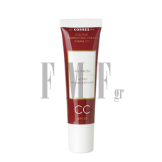 KORRES Wild Rose CC Cream SPF30 Medium - 30 ml.