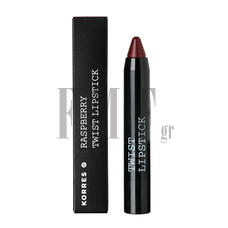 KORRES Raspberry Twist Lipstick Seductive - 2,5 ml.