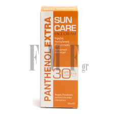 PANTHENOL EXTRA Sun Care Face Cream SPF30 - 50 ml.