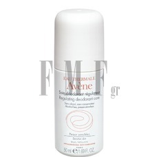 AVENE Soin Deodorant Regulateur Roll On - 50 ml.