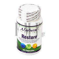 NATURAL VITAMINS Restore - 30 Caps.