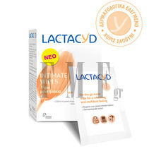 LACTACYD Intimate Wipes - 10 Τεμ.
