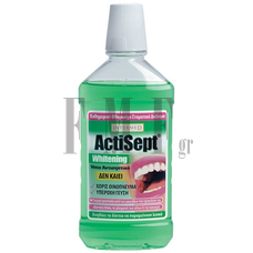 INTERMED Actisept Mouthwash Whitening - 500 ml.