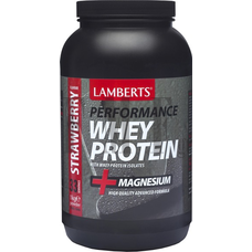 LAMBERTS Whey Protein Strawberry - 1000 gr.