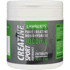 LAMBERTS Creatine 1000mg - 250 Tabs.