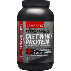 LAMBERTS Diet Shake Strawberry - 1000 gr.