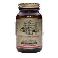 SOLGAR Advanced Acidophilus Plus - 120 Caps.