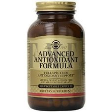 SOLGAR Advanced Antioxidant Formula - 120 Caps.