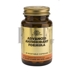 SOLGAR Advanced Antioxidant Formula - 30 Caps.