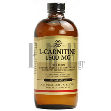 SOLGAR L-Carnitine Liquid 1500mg - 473 ml.