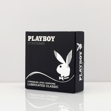 PLAYBOY Condoms Lubricated Classic - 3 Τεμ.