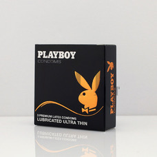 PLAYBOY Condoms Ultra Thin - 3 Τεμ.