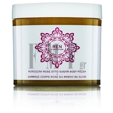 REN Moroccan Rose Otto Sugar Body Polish - 330 ml.