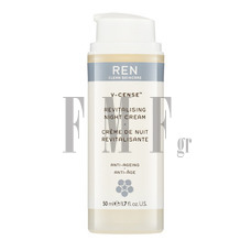 REN V-Cense Revitalising Night Cream - 50 ml.