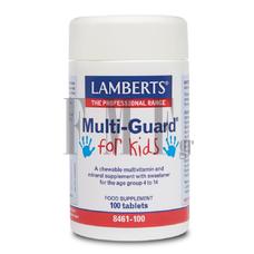 LAMBERTS Multi-Guard For Kids - 100 Tabs.