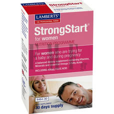 LAMBERTS StrongStart® for Women - 30 Tabs/30 Caps.