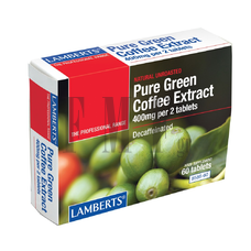 LAMBERTS Pure Green Coffee Extract - 60 Tabs.