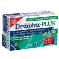 INTERMED Dextrolyte Plus - 10 Τεμ
