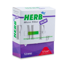 VICAN Herb Micro Filter Slim- 12 Τεμ.