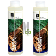 BODYFARM Shower Gel Cedarwood 1+1 ΔΩΡΟ - 2x250 ml.