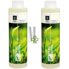 BODYFARM Shower Gel Green Tea 1+1 ΔΩΡΟ - 2x250 ml.