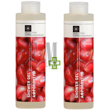BODYFARM Shower Gel Pomegranate 1+1 ΔΩΡΟ - 2x250 ml.