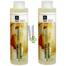 BODYFARM Shower Gel Gardenia 1+1 ΔΩΡΟ - 2x250 ml.