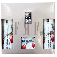 "BODYFARM ""Gift Set 2"" Goji Berry (with Scrub) - 900 gr."