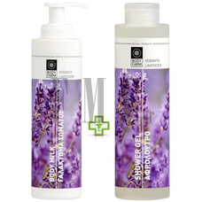 BODYFARM Body Milk Levander & ΔΩΡΟ Αφρόλουτρο Levander - 2x250 ml.
