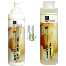 BODYFARM Body Milk Gardenia & ΔΩΡΟ Αφρόλουτρο Gardenia - 2x250 ml.