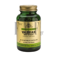 SOLGAR Valerian Root Extract - 60 Caps.