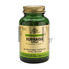 SOLGAR Echinacea Root & Leaf Extract - 60 Caps.