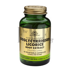 SOLGAR Licorise Root Extract - 60 Caps.