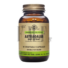 SOLGAR Astragalus Root Extract - 60 Caps.