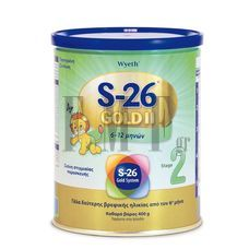 WYETH S-26® Gold II (από 6 μηνών) - 400 gr.