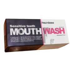 FREZYDERM Sensitive Teeth Mouthwash - 250 ml.