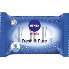 NIVEA Baby Fresh and Pure Μωρομάντηλα - 63 Τεμ.