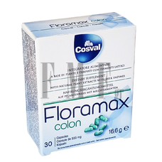 COSVAL Floramax Colon - 30 Caps.