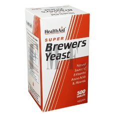 HEALTH AID Brewers Yeast 300mg - 500 Tabs.