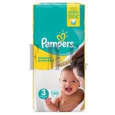 PAMPERS Baby Dry Midi No3 (4-9 kg) - 50 Τεμ.