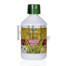 OPTIMA Aloe Vera Juice with Cranberry - 500 ml.