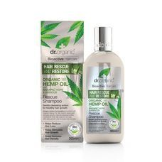 DR.ORGANIC Hemp Oil Rescue Shampoo - 265ml