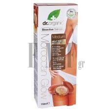 DR.ORGANIC Moroccan Glow Medium Self Tan Mousse - 150ml