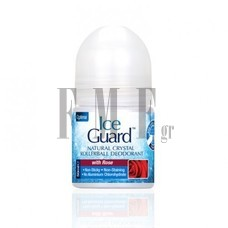 OPTIMA Ice Guard Natural Crystal Deodorant with Rose - 50 ml.