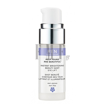 REN Instant Brightening Beauty Shot Eye Lift - 15 ml.