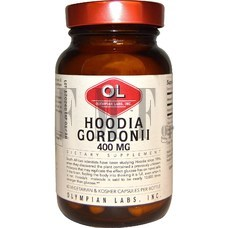 OLYMPIAN LABS Hoodia Gordon II 400 mg - 30 Servings.
